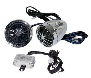 Pyle PLMCA30 400 Watt Amp Motorcycle  Speaker Stereo System