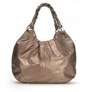 Elliott Lucca Copper Leather Astrid Large Hobo Bag