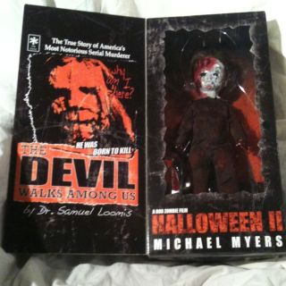 Michael Myers Living Dead Doll Rob Zombie Halloween 2 not Freddy Jason