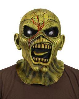 Iron Maiden Eddie Piece of Mind New Latex Mask Offic