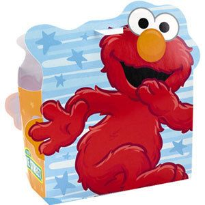 Elmo Candy Treat Boxes Party Favors Loot Bags Box Sack Sacks
