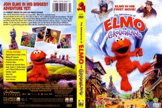 The Adventures Of Elmo In Grouchland DVD Full Screen Jim Henson   The