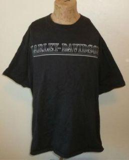 Harley Davidson Motorcycle T Shirt Eden Prairie MN Vtg Black Biker