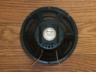 Jensen P10Q Alnico 5 Concert Series speakers Origial issue vintage