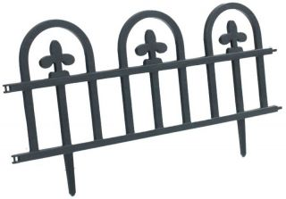 Decorative Plastic Edge Fencing Garden Border Edging Fence