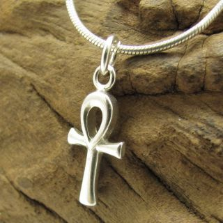 ankh cross 925 silver pendant pendants plain miniture egyptian ankh