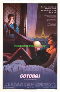 Gotcha Movie Poster Linda Fiorentino Anthony Edwards