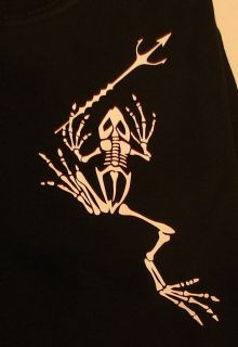 Navy Seal XL t shirt Team 6 DEVGRU Frog Skeleton trident Real Symbol
