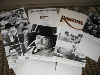 Ragtime Movie Press Kit James Cagney Elizabeth McGovern