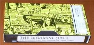 The Bigamist (1953) ~ Edmond OBrien, Joan Fontaine, Ida Lupino   VHS