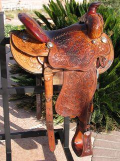 Elkhorn Saddlery Custom Hand Made Saddle
