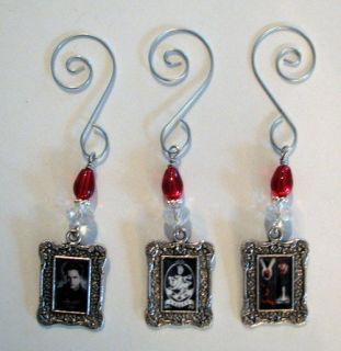 Theme Christmas Ornament Set Edward Cullen Twilight Books Cullen Crest