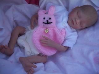 Reborn Preemie Baby Girl   CALEB Sculpt by Heather Boneham