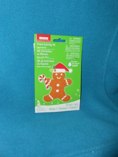 Creatology Foam Activity Kit Gingerbread Man Ages 6 Brand NEW