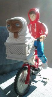 Terrestrial 13 Elliott Boy & Bike Vintage Collectible Figure Toy E.T