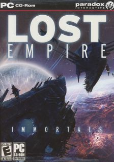 Lost Empire Immortals Paradox Interactive Space Simulation PC Game XP