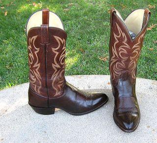 El Dorado Cowboy Western Boots Mens 10D