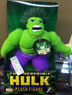 Plush Figure Figura Peluche Incredible Increible Hulk Nueva New