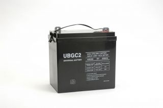 6V 200AH Yamaha Club Car Utility Golf Cart Rechargeable SLA Battery