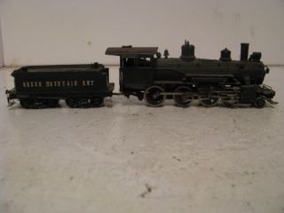HO Scale Brass 4 6 0 Steam Locomotive