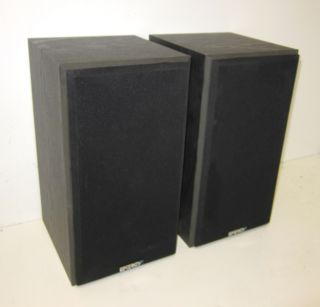 energy pro series 3 5 bookshelf speakers monitors excellent shape