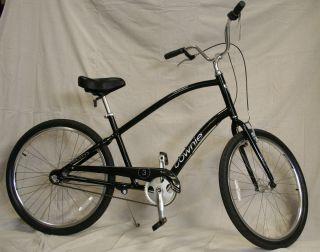 Electra Townie 3i Black Mens Beach Cruiser City Hybrid Bike Brand New