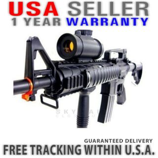 M4 RIS Airsoft Electric Assault Rifle M4A1 AEG Semi Full Auto M83A2