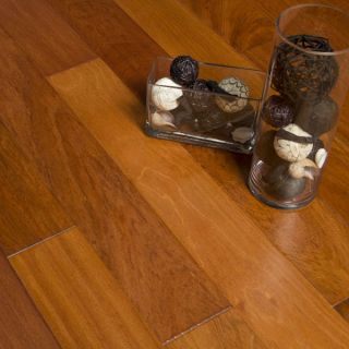 Hand Scraped Natural Brazilian Cherry Hardwood Flooring Wood Floor