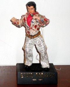 Elvis Presley Vintage Singing Dancing Radio Doll Figure