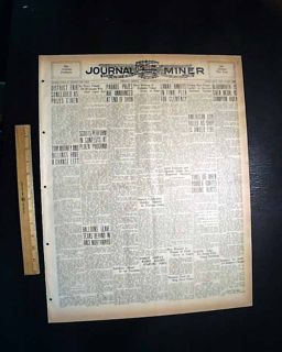 Emelle Al Alabama Sumter County Co Race Riot Negroes 1930 Newspaper