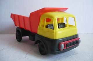 Mexican Dump Truck Copy Plastimarx Marx toys Plastic toy Car Made In