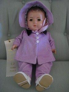 Madame Alexander Dionne Quint Doll Emilie 14 Vintage RARE