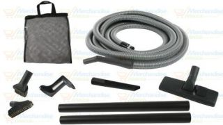 30 Central Vacuum Garage Utility Kit w Deluxe Hose