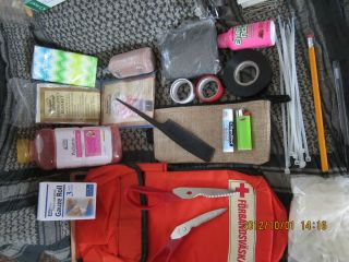 Prepare Survival Tools First Aid Pack Electrolytes Bug Out Bag