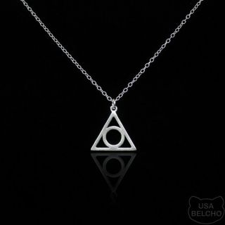 925 Sterling Silver Illuminati All Seeing Eye Pendant Necklace Belcho
