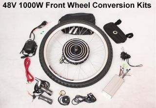 48V 1000W Electric Bicycle E Bike Retrofit Kits New 2012 New Model