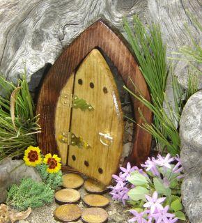 Open Door 7 Forest Style Fairy Gnome Hobbit Troll or Elf Door