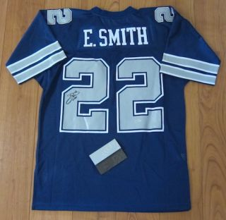 Emmitt Smith Signed Authentic 92 Cowboys Jersey UDA