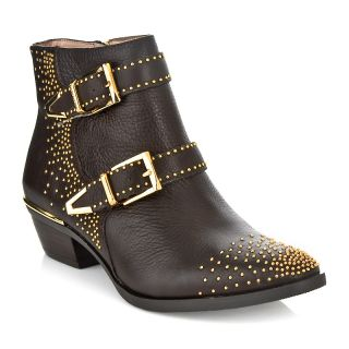 Vince Camuto Tema Leather Studded Bootie