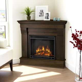 Real Flame Chateau Electric Corner Fireplace Heater New Model 3 Colors
