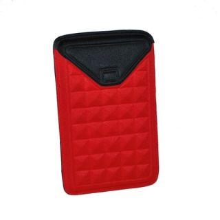 New Kindle Fire Nook Tablet eReader Molded Sleeve Case Red Envelope by
