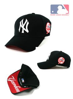 New York Yankees Team Baseball Cap Black Color Cap with White Logo New