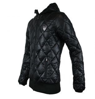 Emporio Armani EA7 271266 1W362 Mens Down Quilted Jacket AW11 Black