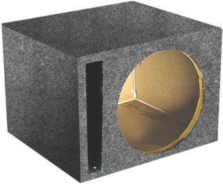 NEW Q POWER QSBASS15 EMPTY SUBWOOFER SUB BOX (1) 15 SLOT PORTED