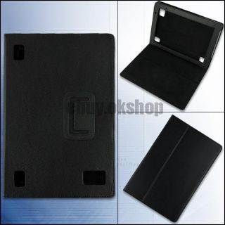 Folio Leather Stand Cover Case for Acer Iconia Tab A500