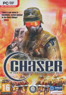 CHASER Futuristic Combat Shooter PC Game FPS   US Seller   DVD   BRAND
