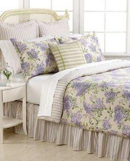 Ralph Lauren Cape Elizabeth Lilac Queen Comforter Set