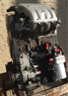 Engine Motor VW Cabrio Golf Jetta 96 02 2 0L ABA