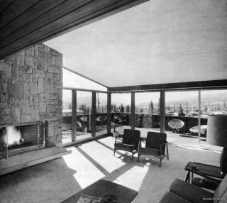 60s Mid Century Eames Era Hillside Homes Floor Plans