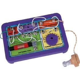 Own AM Band Crystal Radio Kit Electronics Scientific Educational Toy